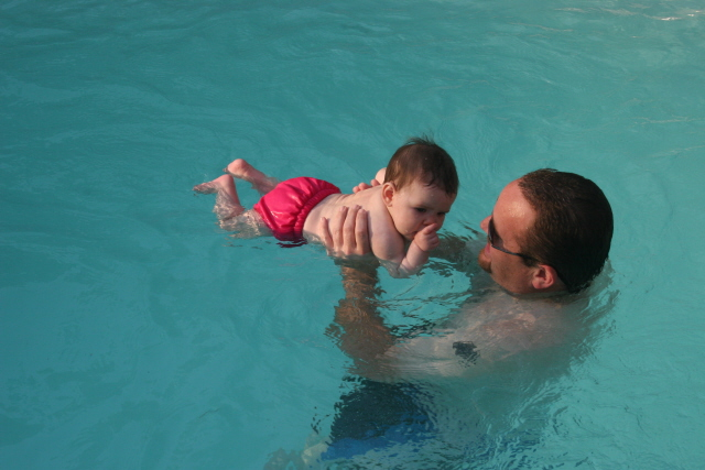 swiming with uncle bill